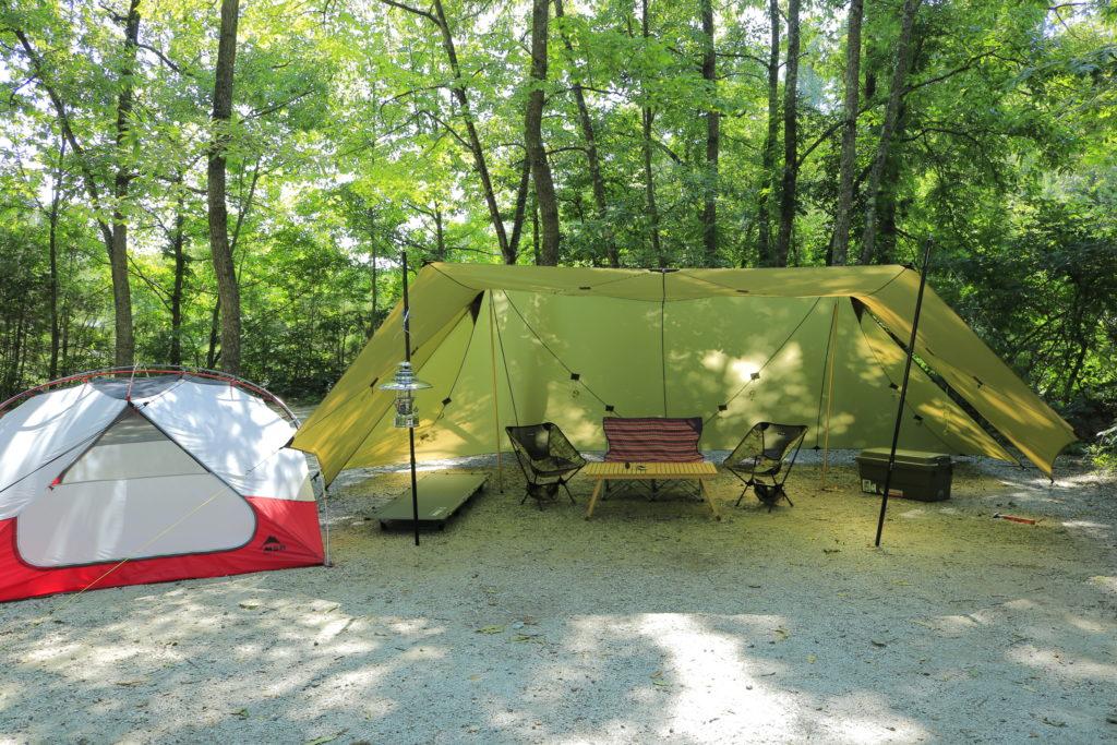 ソリスシルとエリクサー パッカーンスタイルのキャンプ場