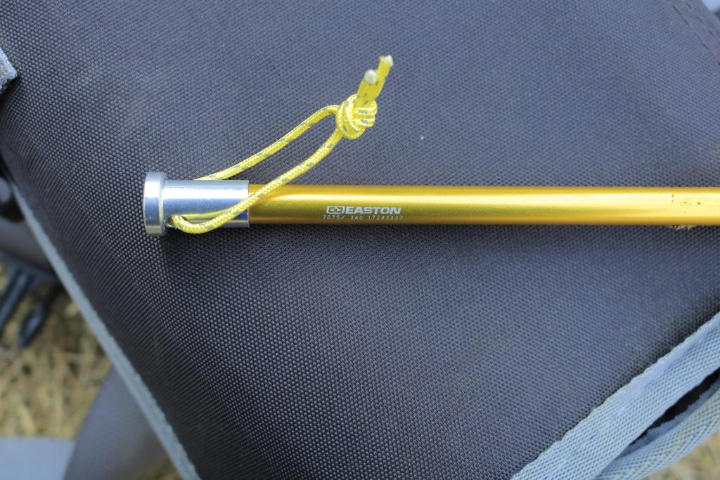 イーストンペグの黄色いヘッド部分