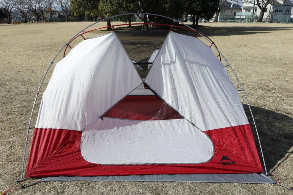 ファミキャン用 テント