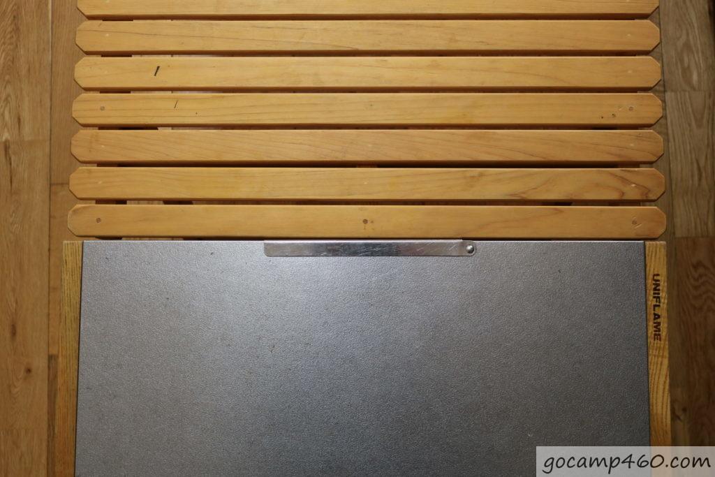 ユニフレームのテーブルの大きさを比較