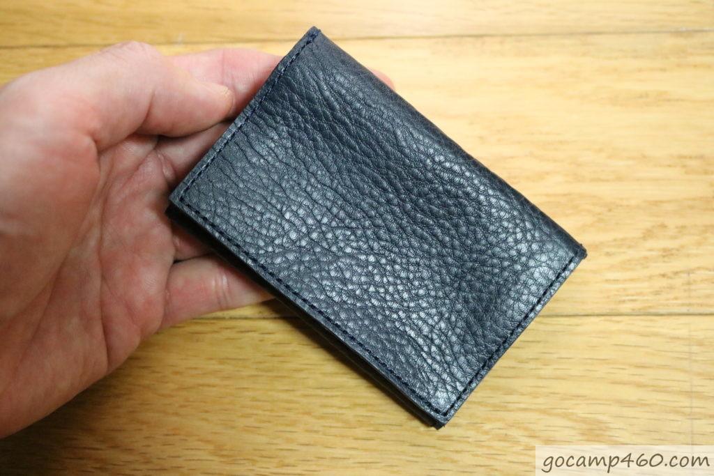 前から見た財布